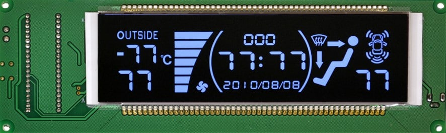 custom VTN vertical alignment LCD